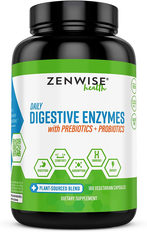 Zenwise Health Digestive Enzymes Plus Prebiotics & Probiotics
