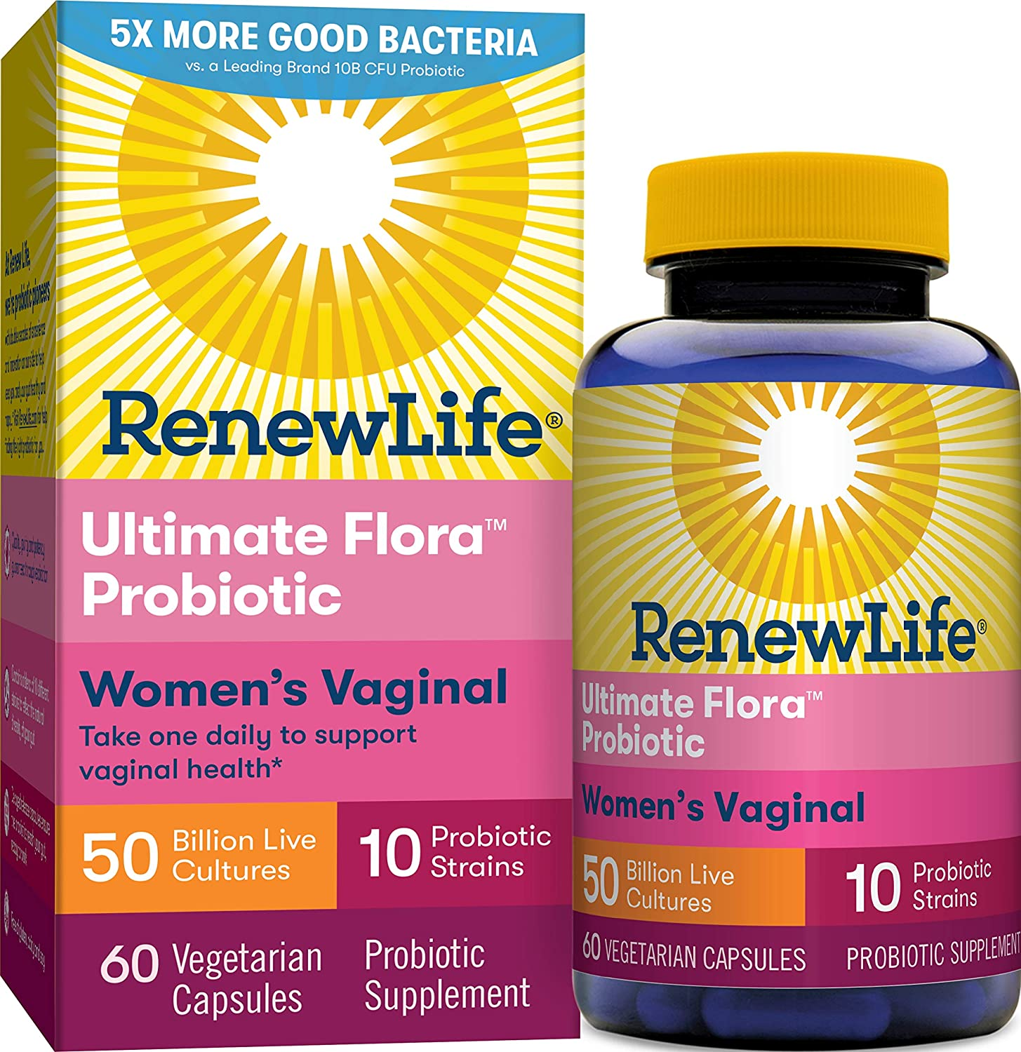 Renew Life Ultimate Flora Probiotic Women's Vaginal
